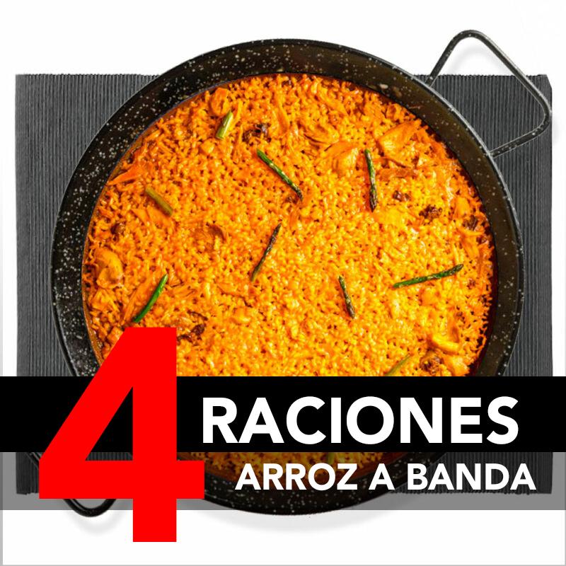 Arroz a Banda (4 Raciones)