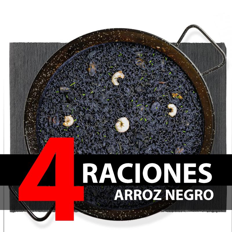 Arroz negro (4 Raciones)
