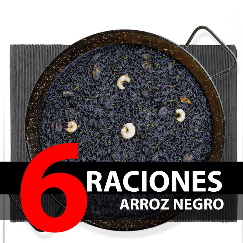 Arroz negro (6 Raciones)