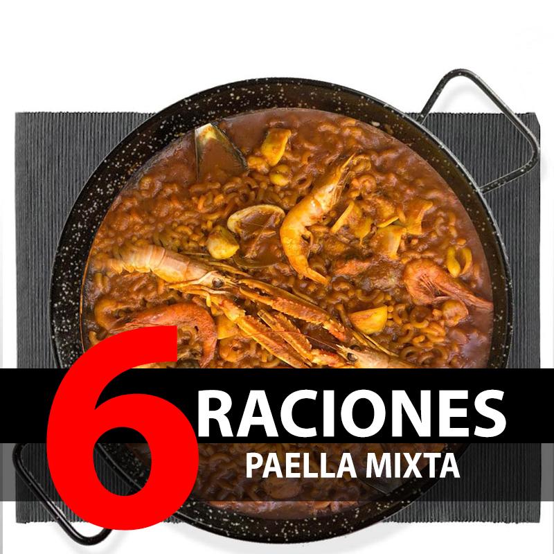 Paella Mixta (6 Raciones)