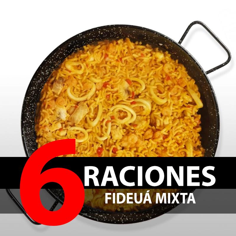 Fideuá Mixta (6 Raciones)