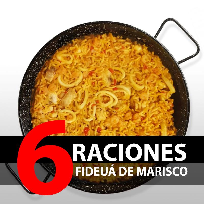 Fideuá de Marisco (6 Raciones)