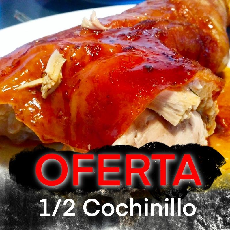 1/2 Cochinillo (OFERTA)